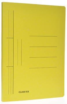 Class'ex hechtmap, ft 25 x 32 cm (voor ft A4), geel