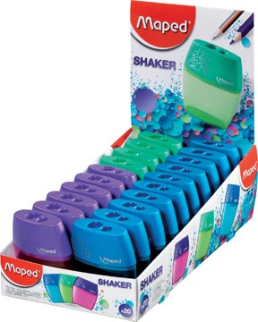 Maped Potloodslijper Shaker 2-gaats, in een doos