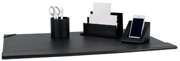 Pavo 4-delige bureauset zwart