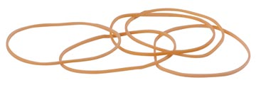 STAR elastieken 1,5 mm x 80 mm, doos van 100 g