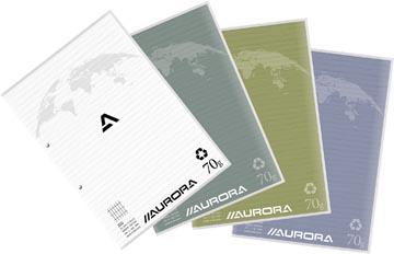 Aurora cursusblok A4 70G commercieel, 100 vel