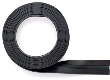 Durable Durafix zelfklevende magneetstrook op rol, 5 m, zwart