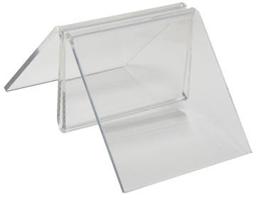 Deflecto menu clip menuclip, 50 mm