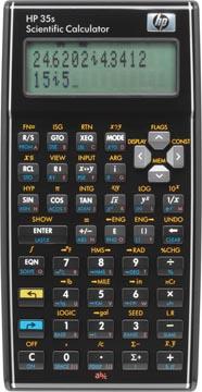 HP wetenschappelijke rekenmachine 35S