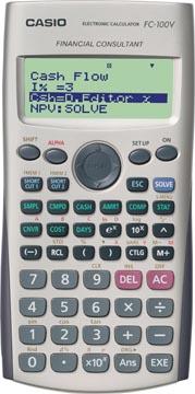 Casio Financiële rekenmachine FC-100V